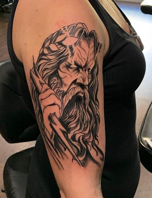 Greek Mythology - Zeus Tattoos