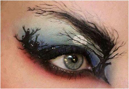 a halloween look