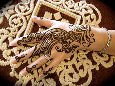 Henna Mehndi Stickers : Top eye catching eid mehndi designs you should try in
