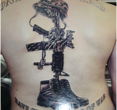 army war tattoo