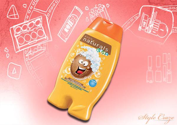avon naturals kids crazy coconut shampoo