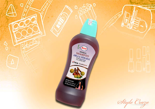 ayur herbal amla shampoo