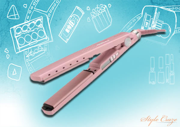 babyliss pro pink straighteners