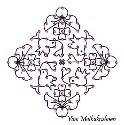 top latest kolam designs 400 x 403 33 kb jpeg