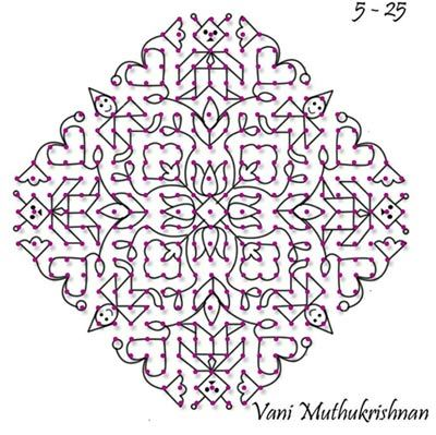 Top 8 Latest Kolam Designs For You To Try This 2019