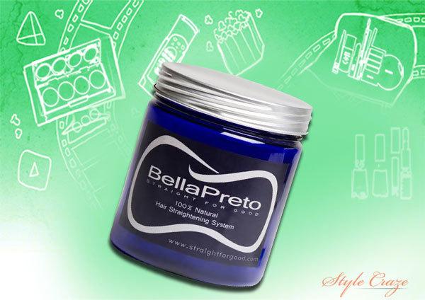bellapreto natural permanent hair straightener cream