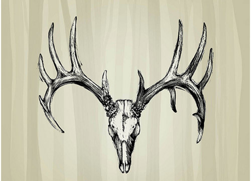 best deer skull tattoos