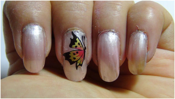 butterfly nail sticker