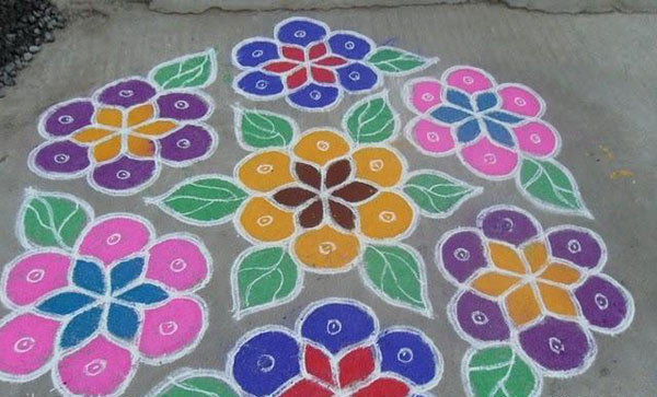 Top 10 Latest Kolam Designs For You To Try This 2019