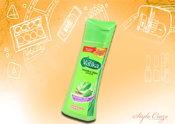 dabur vatika black shine shampoo with black olives amla and almonds