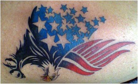 eagle military tattoo designs