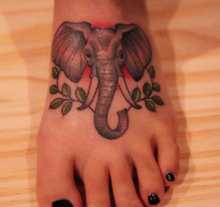 top 10 elephant tattoo designs rh stylecraze com elephant foot tattoo meaning mandala elephant foot tattoo