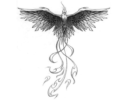 fierce phoenix tattoo