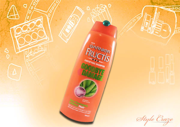 garnier fructis goodbye damage shampoo