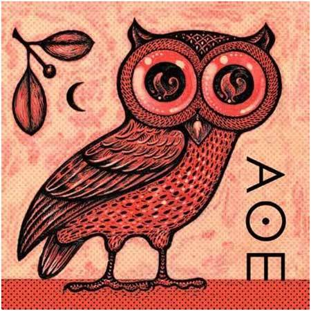 greek mythological owl