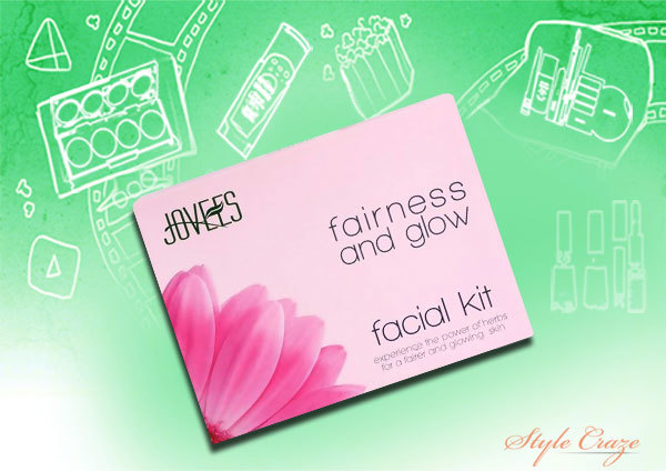 joves fairness and glow facial kit