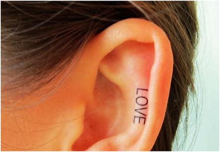 10 Super Cool Ear Tattoo Designs
