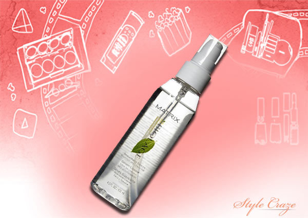 matrix biolage smoothing hair serum