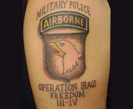 military police tattoo ideas
