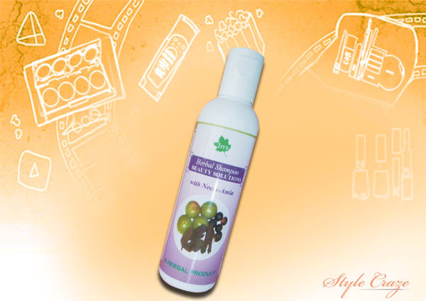 nirogam herbal shampoo with neem and amla
