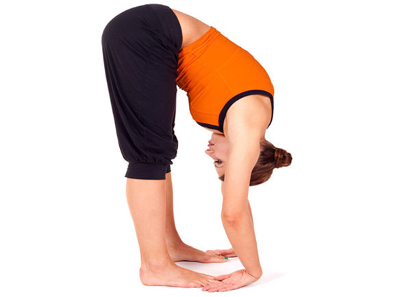 padangusthasana pose - Hatha Yoga