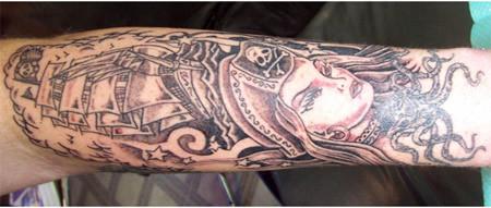 pirate queen tattoo