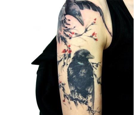 raven flowers myspace