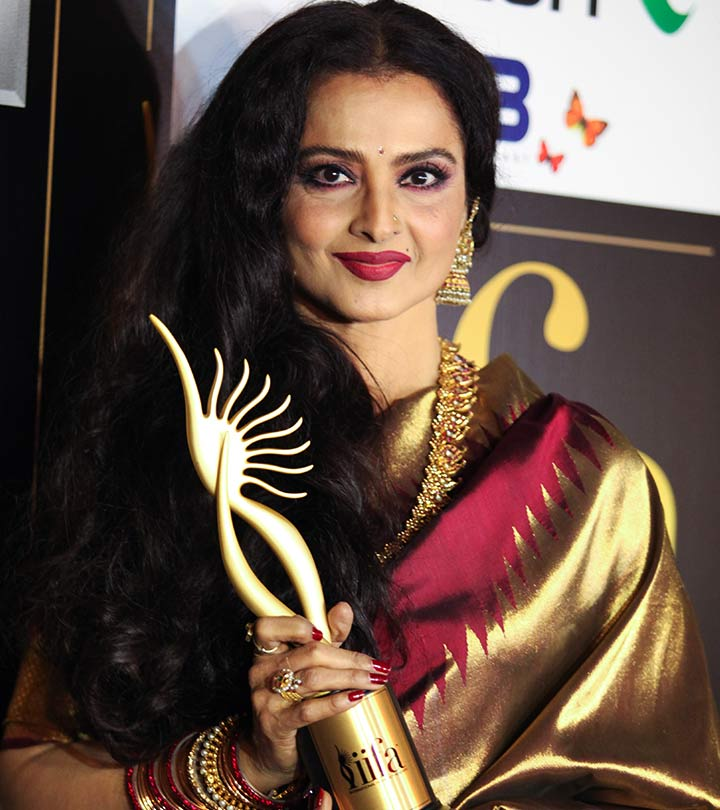 Rekha's Beauty, Makeup And Fitness Secrets Revealed