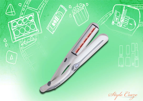 revlon laser brilliance straightener
