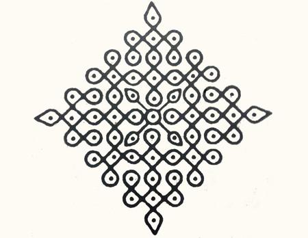 simple dot grid