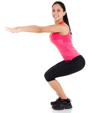 Hamstring Exercises - Squats
