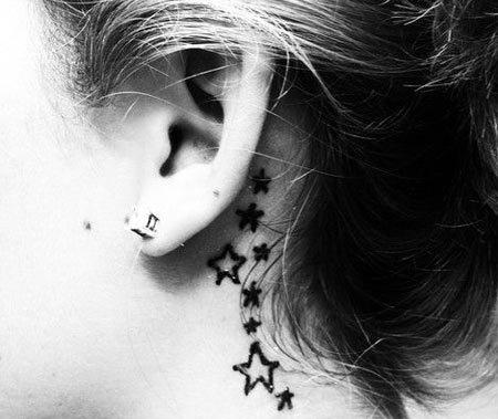 fcf4582f9828c 10 Super Cool Ear Tattoo Designs