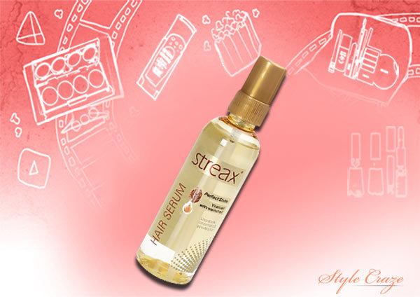 streax perfect shine hair serum review