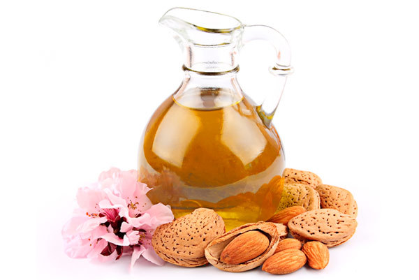 sweet almond oil for hair
