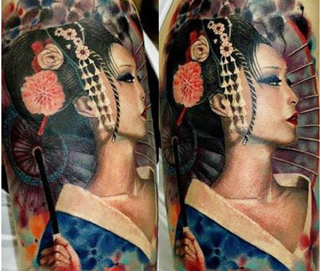 tattoo upper arm