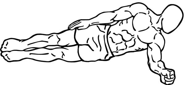 the side crunch ab exercise