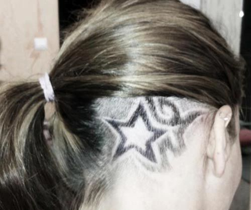 the star tattoo