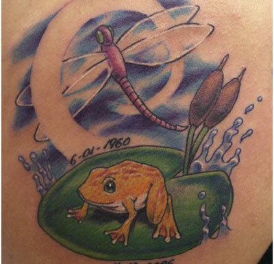 tribal frog lakota