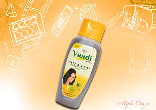 vaadi herbals amla shampoo with shikhakai and reetha