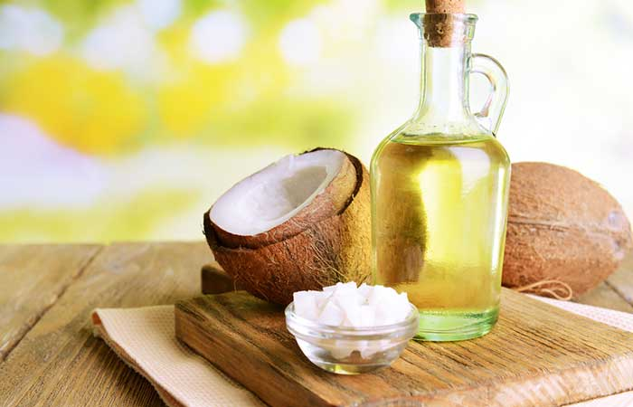 1. Coconut Oil Face Mask