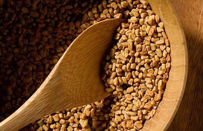 1. Fenugreek Seeds For Dandruff