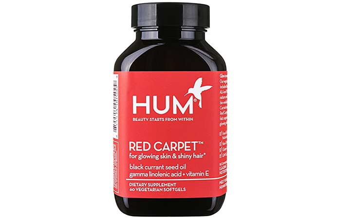 Hair Growth Supplements - HUM Nutrition Red Carpet Hair Formula