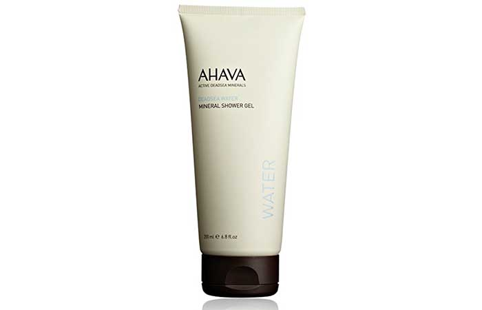 10. AHAVA Mineral Shower Gel