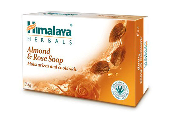 10. Himalaya Herbals Almond And Rose Soap