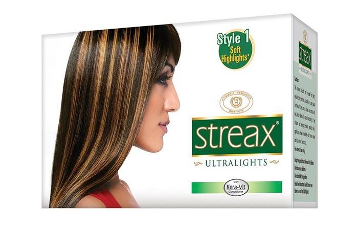 10. Streax Hair Colour Ultra Light Soft Style 1