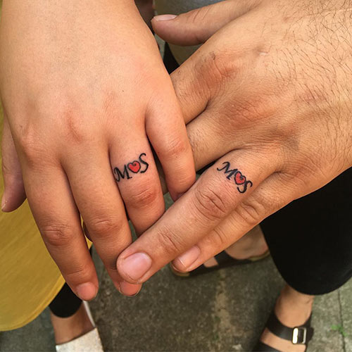 Connected By The Heart Tattoos