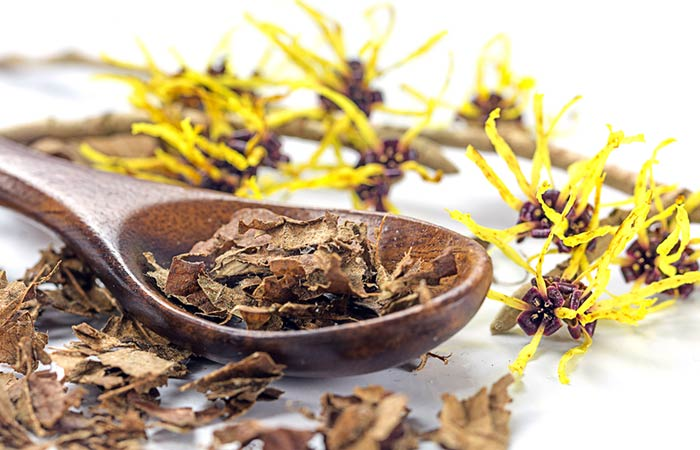 11. Witch Hazel For Scalp Psoriasis