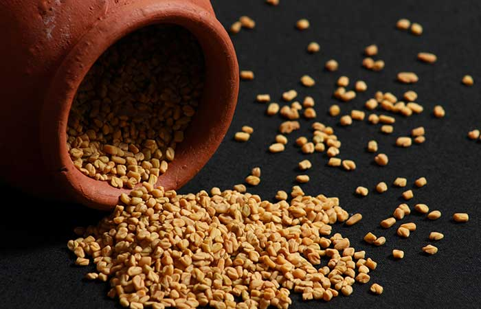 12. Fenugreek Face Mask