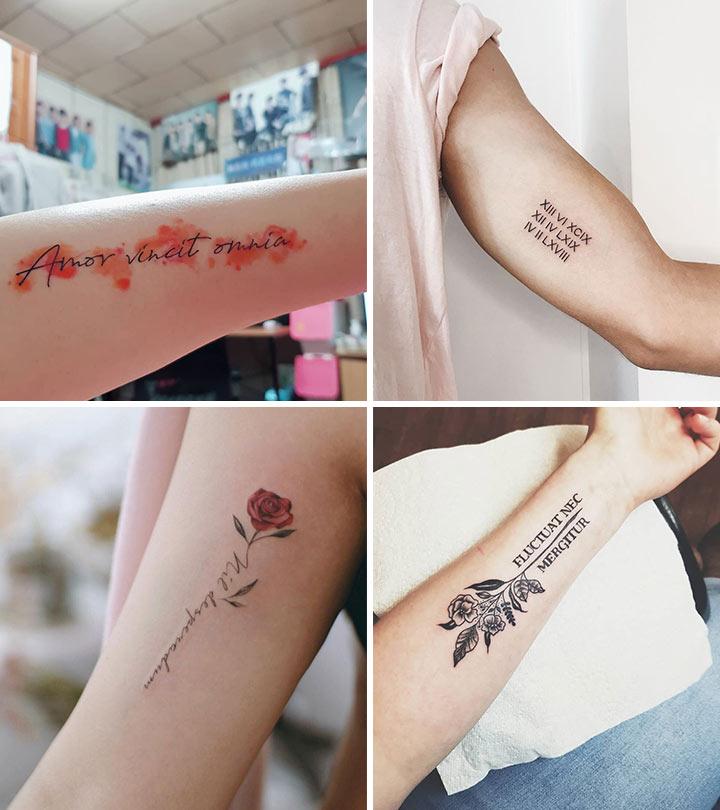 13 Trendy Latin Tattoo Designs
