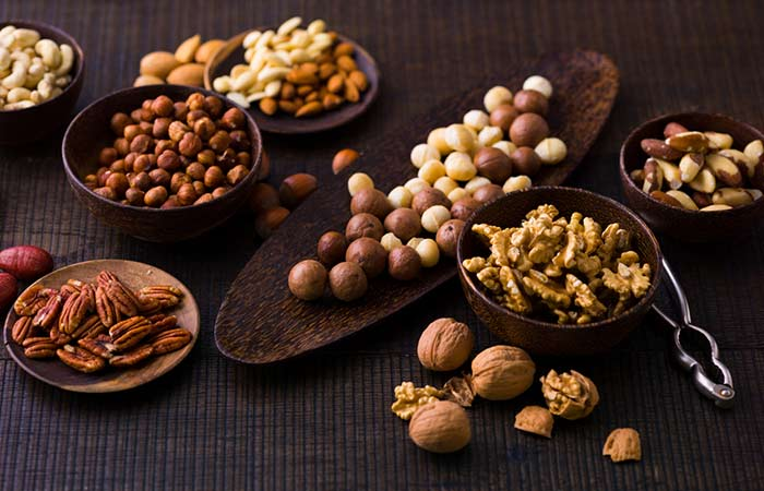 Iron-Rich Foods - Nuts And Seeds